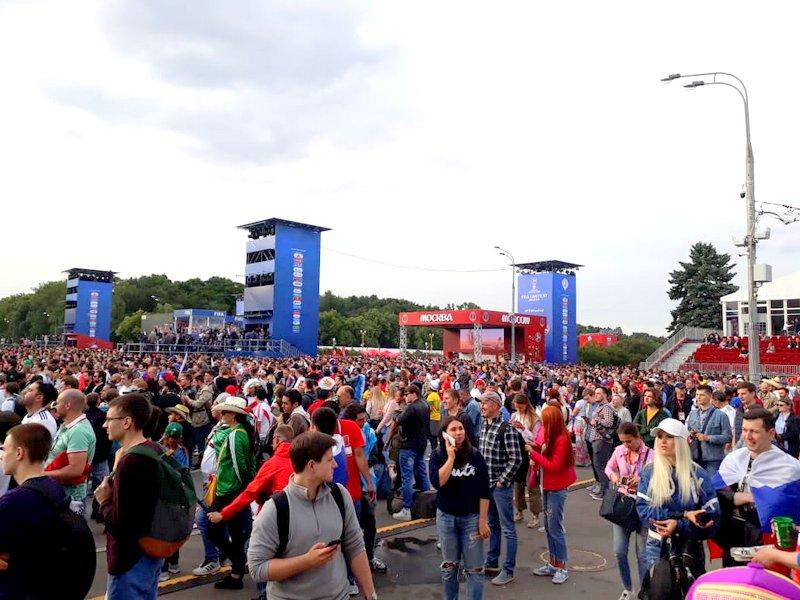 La fiesta se vivió tanto adentro como afuera del estadio.