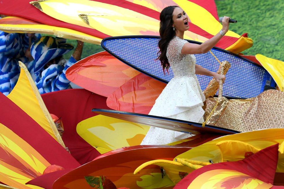 La estrella rusa de la ópera, Aida Garifullina fue una de las voces de la apertura.