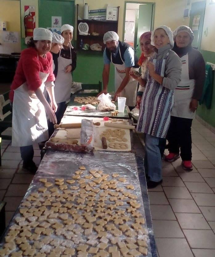 Alumnos del Taller de Panadería