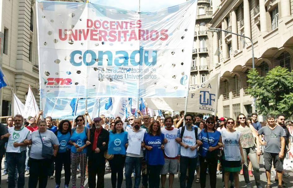 Docentes Universitarios se reunirán con representantes del Ministerio de Educación