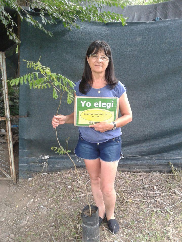 Reforestación de especies autóctonas en Villa La Bolsa