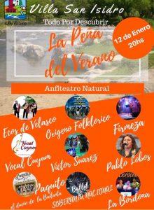 "Villa San Isidro: tendrá ""La Peña del Verano"""