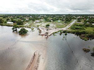 Inundaciones en Bandera, Santiago del Estero. Foto: Bolsa de Cereales Cba