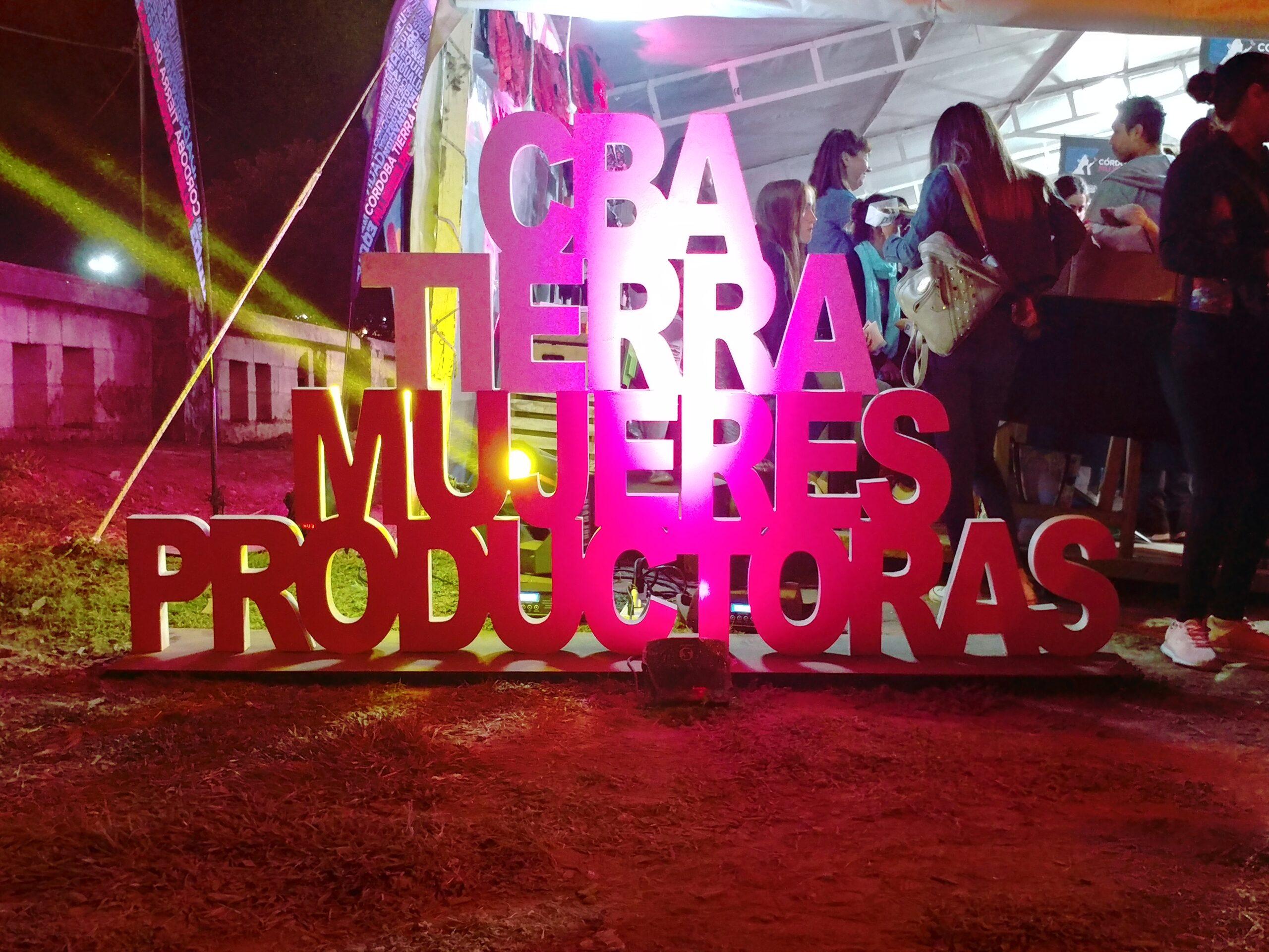 Mujeres productoras