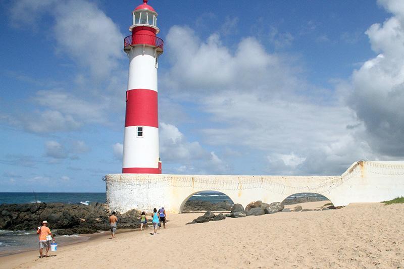 La playa donde fue asesinado el turista cordobés. (varelanoticias)