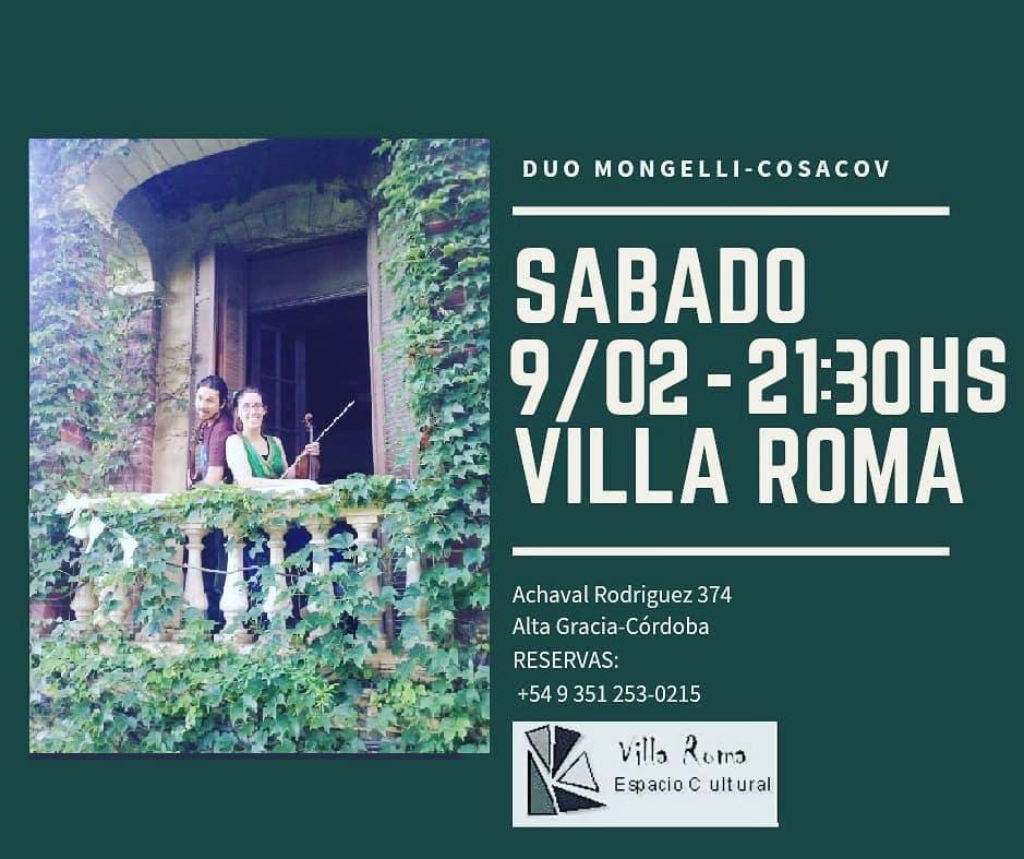 Vení que te invito: Alta Gracia y su oferta cultural para el fin de semana