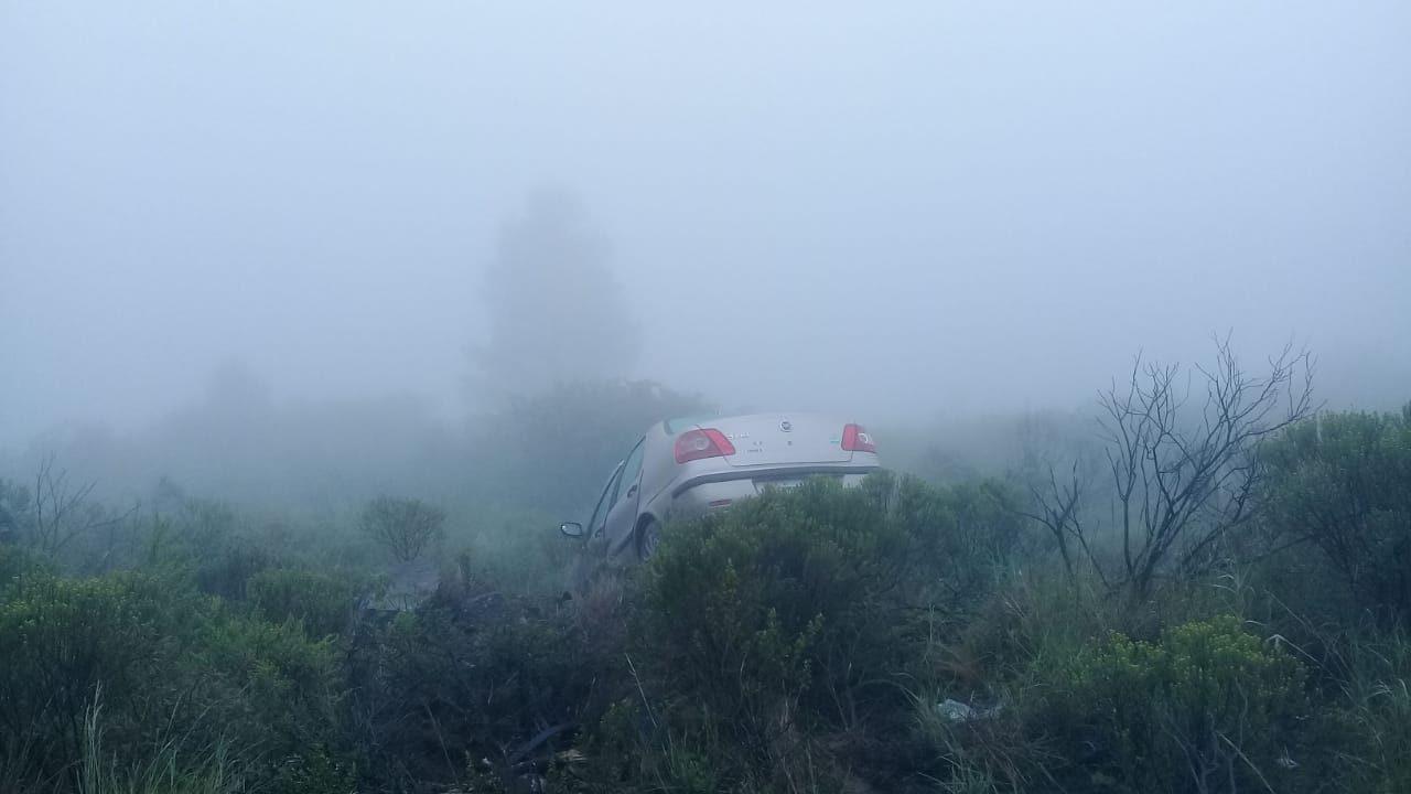 Accidente en la ruta E96