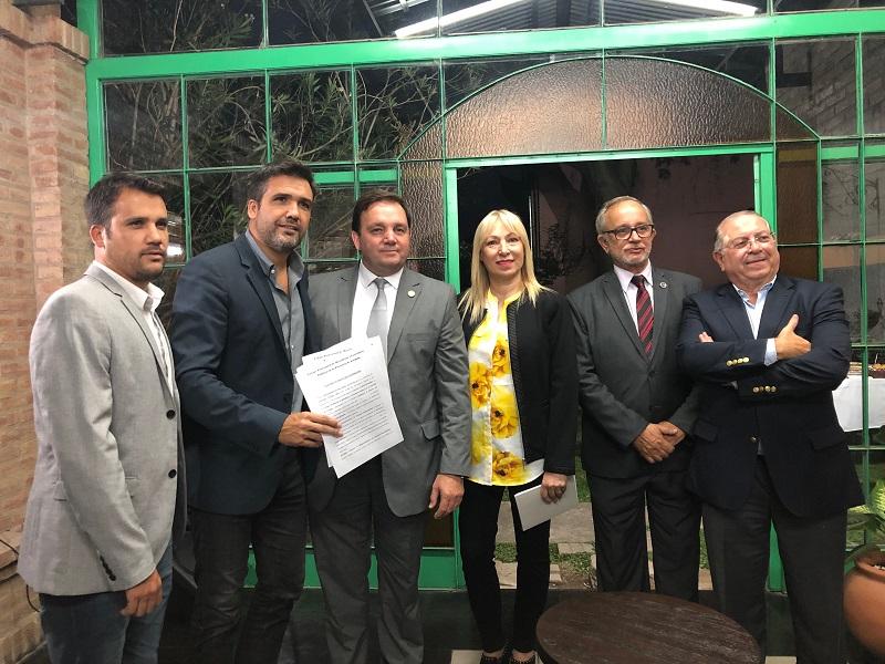 El Colegio de Martilleros y Corredores Públicos inauguró sede en Alta Gracia
