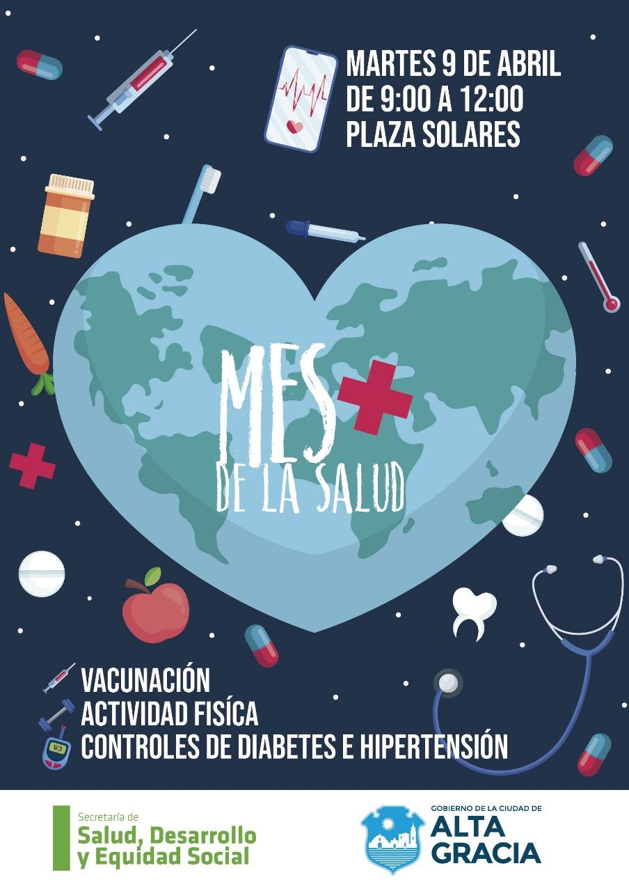 """Se realiza la primera jornada del """"Mes por la Salud"""""""