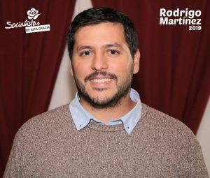 Candidato Rodrigo Martinez