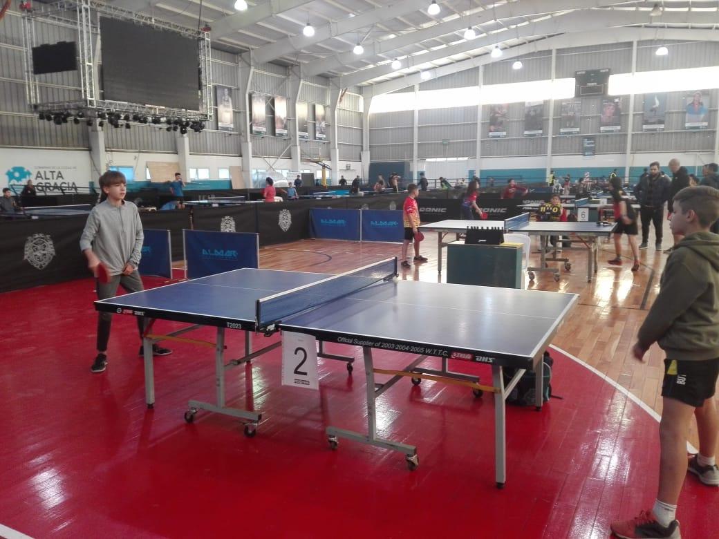 Alta Gracia recibe al Gran Prix Nacional de Tenis de Mesa