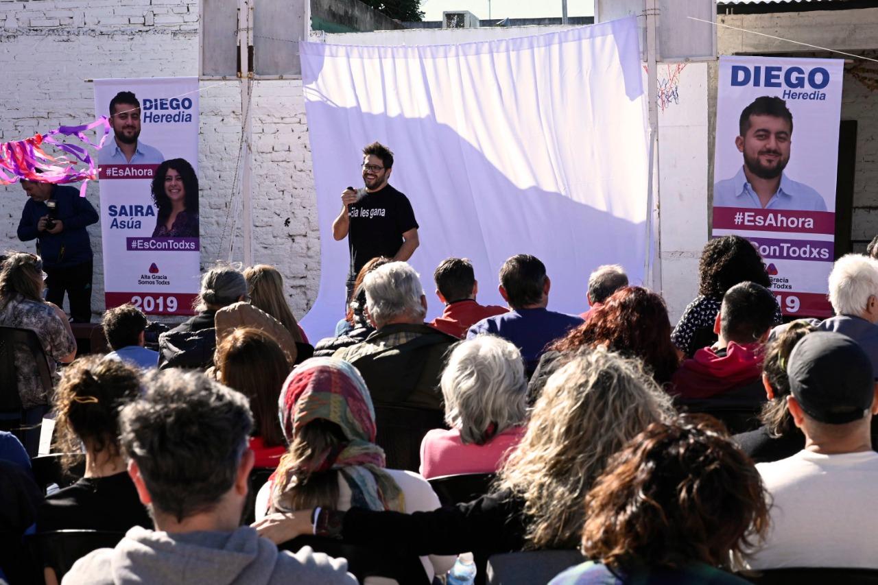Elecciones 2019: la fórmula Heredia - Asúa hizo su presentación oficial