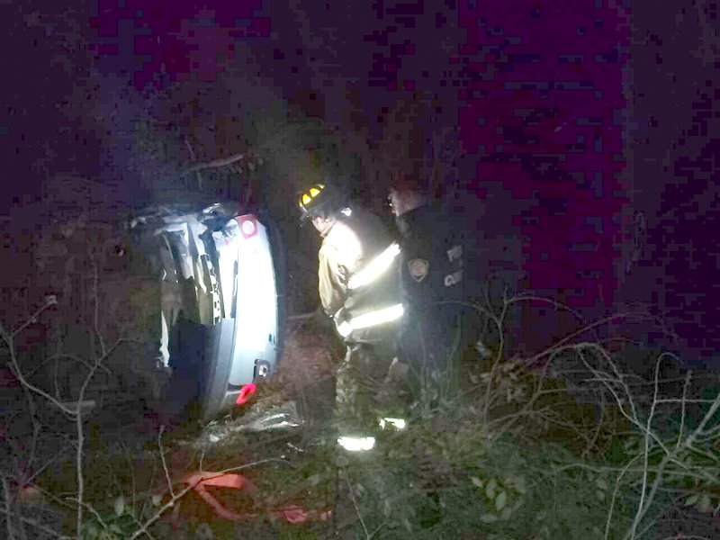 Tremendo accidente en autopista cerca de La Perla