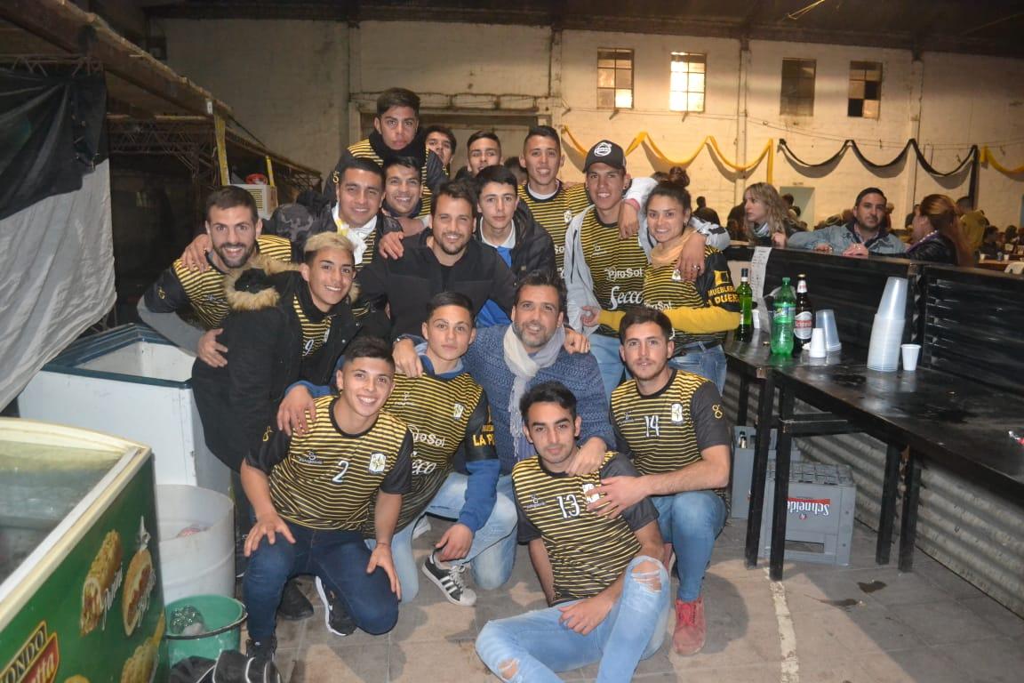 Gran concurrencia y éxito total en la Peña del Deportivo Norte