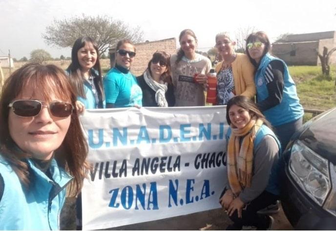 Maestras viajaron desde Alta Gracia en su propio vehículo para llevar donaciones a Chaco