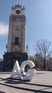 El Reloj Público como uno de los emblemas de la ciudad.