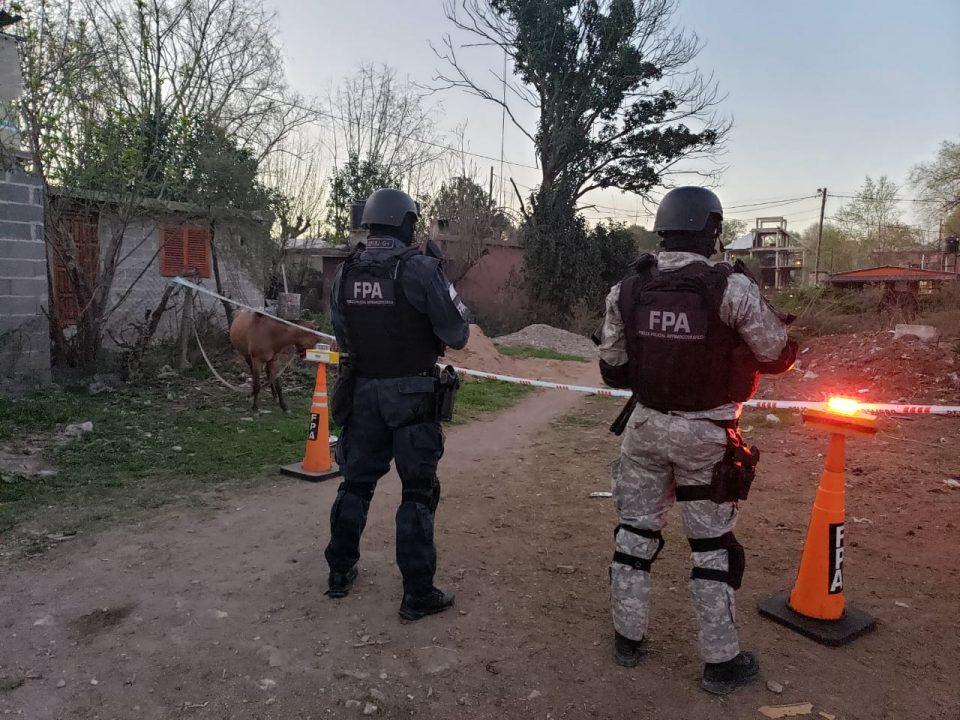 Operativo de la FPA en Villa Oviedo