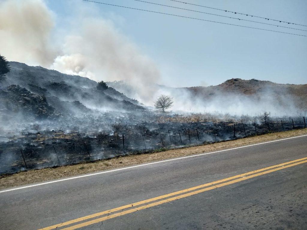 Incendio en Villas Ciudad de América