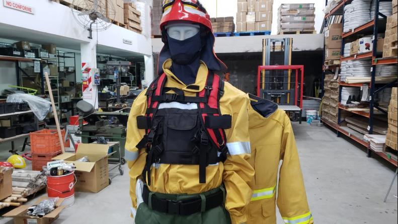 Inforest: fabrican equipos para el fuego y los envían al Amazonas