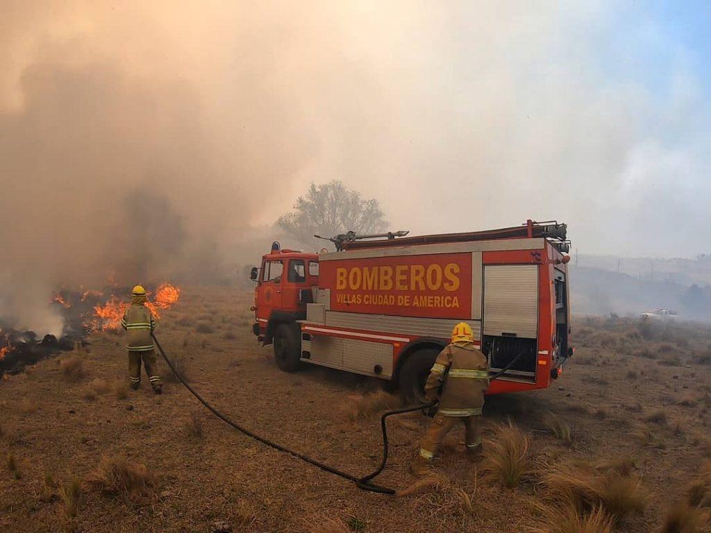 Incendios en las Sierras: 11 mil hectáreas quemadas en 10 días