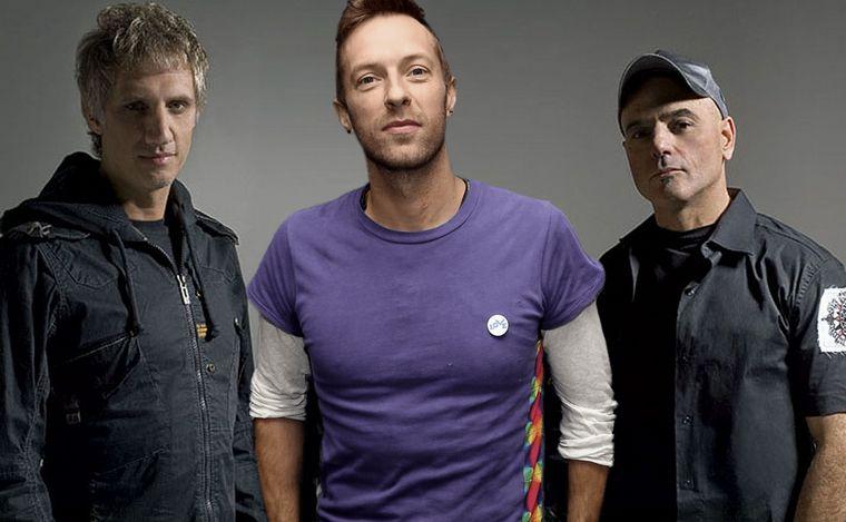 Vuelve Soda Stereo con Chris Martin y Benito Cerati