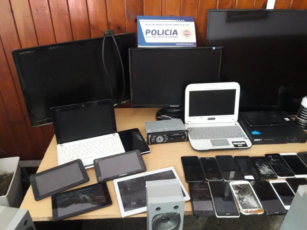 Se llevaron a cabo allanamientos por hechos de robo en Alta Gracia