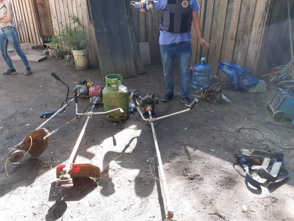 Uno de los operativos se dio en una vivienda ubicada en el Barrio Diego Rojas