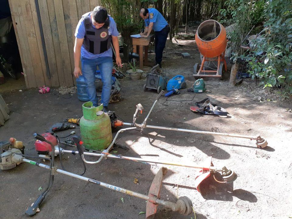 Allanamientos y secuestro de elementos en Villas Ciudad de Américas