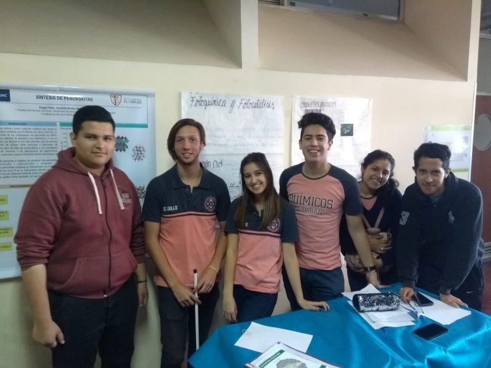 Alumnos de El Obraje expusieron trabajos en la Universidad Nacional de Córdoba