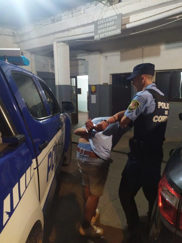 Malagueño: se resistió a un control y amenazó al personal policial con una navaja