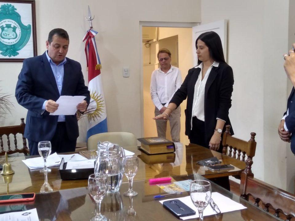 Pachero Juárez reemplaza en el cargo al renunciante Carlos Adam