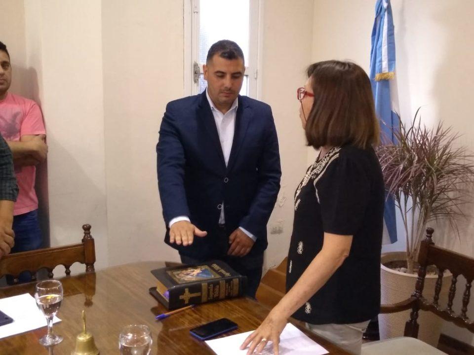 Reemplaza a Iván Poleta, quien irá a cumplir funciones al Ejecutivo.
