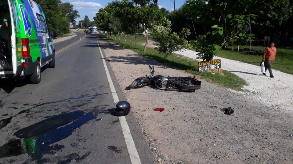 Jornada de accidentes sobre la ruta 5 a la altura de Anisacate
