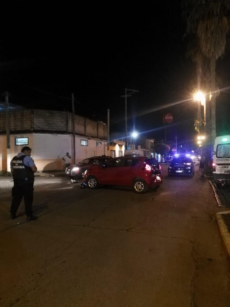 Un motociclista lesionado luego de un accidente en Barrio Norte