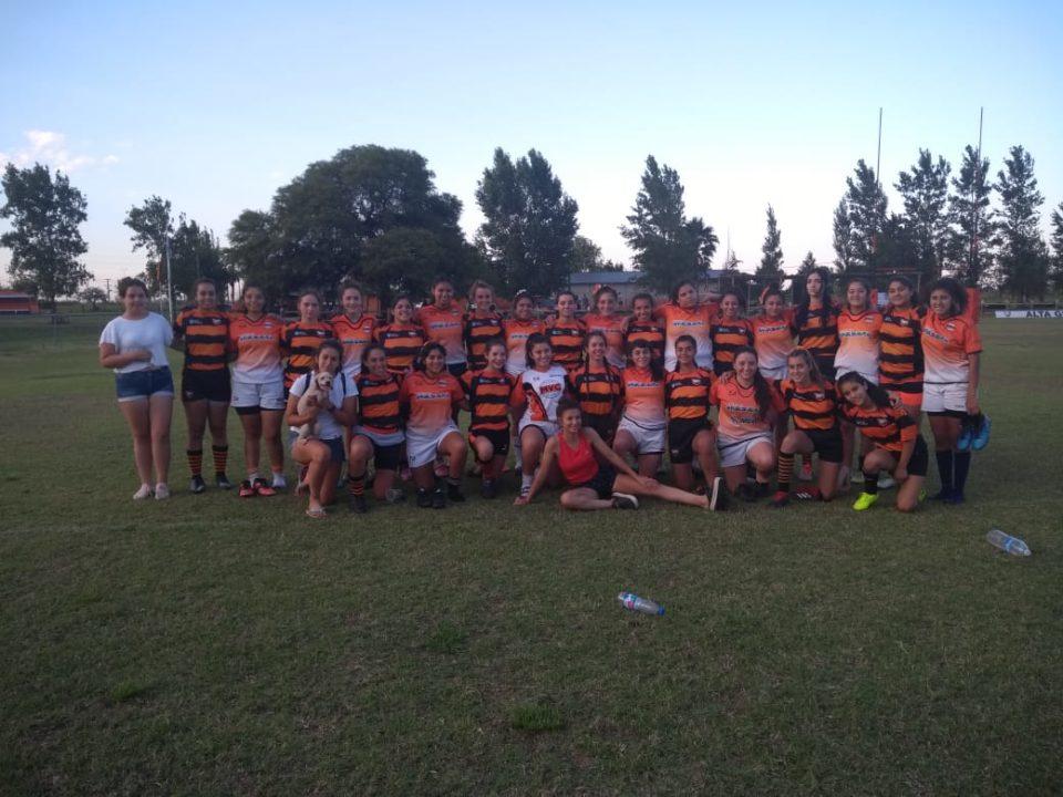 Rugby Femenino: jornada de amistosos entre el AGR y el Club Monteros Voley