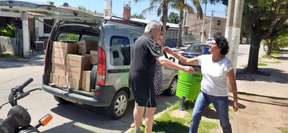 El edil recorrió distintos sectores vulnerables de la ciudad acercando su ayuda y escuchando a los vecinos
