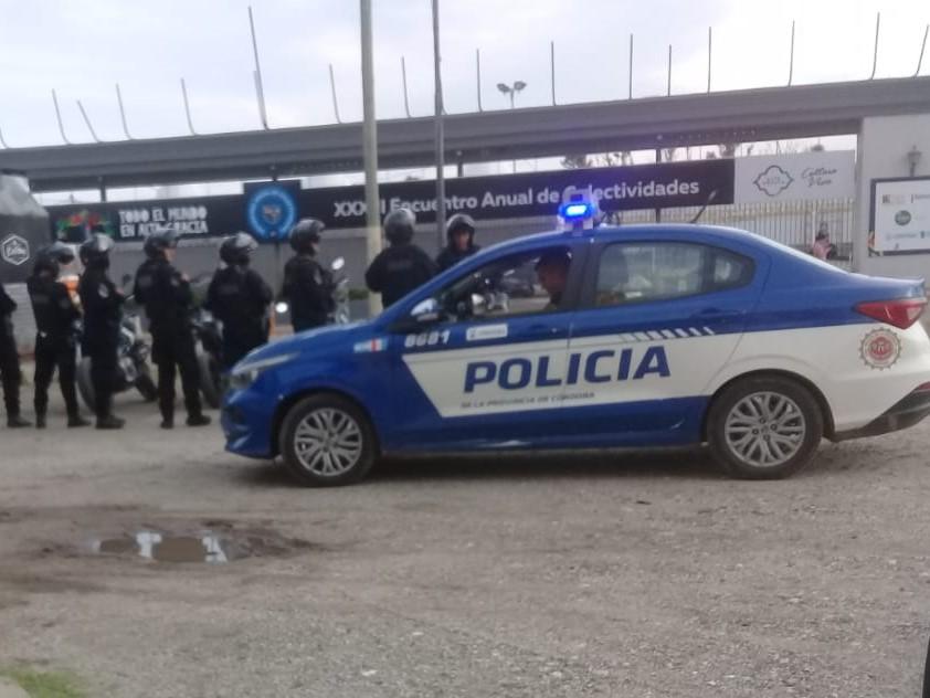 Operativo de saturación por parte de la Policía en Alta Gracia