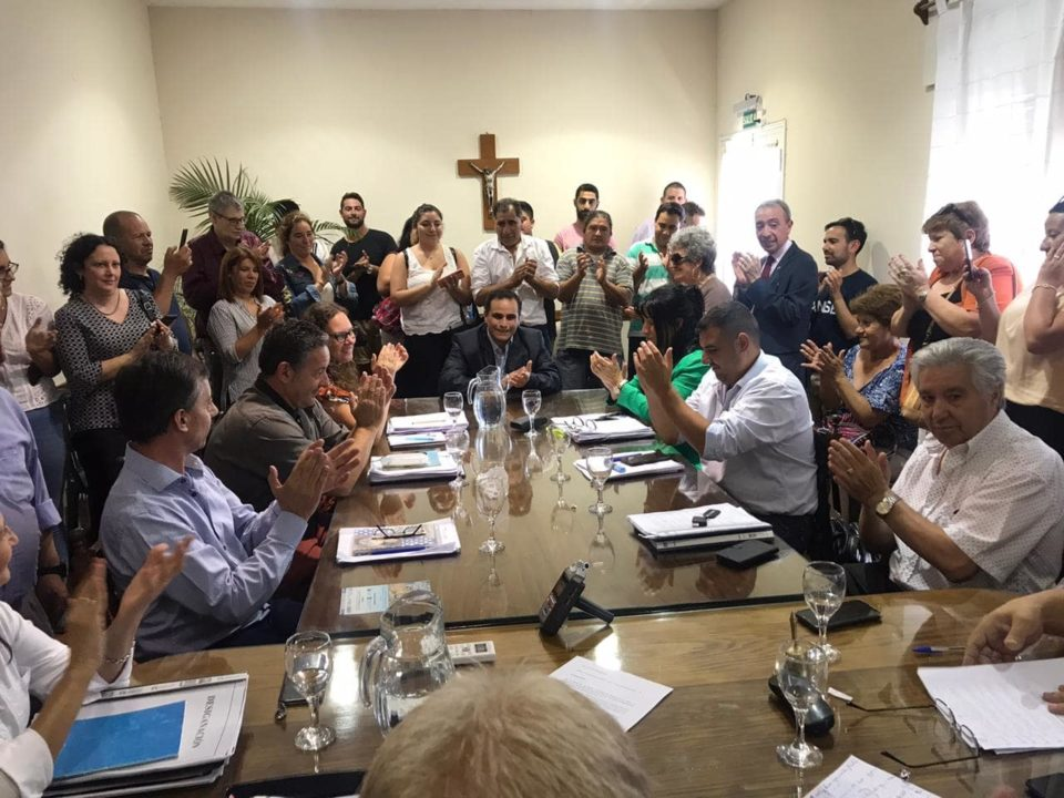 La iniciativa del Ejecutivo fue acompañada por el bloque de Alta Gracia Crece y salió por unanimidad.