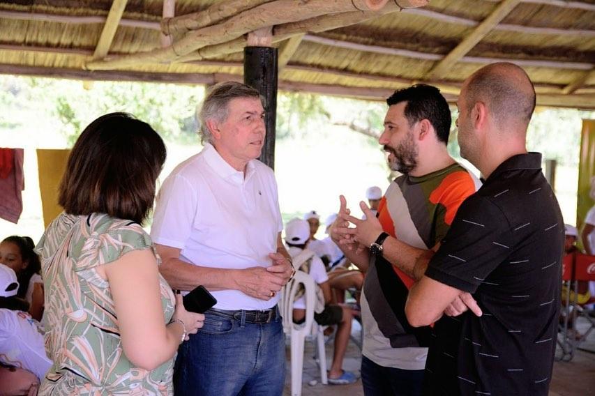 El Ministro Massei visitó la Colonia José María Paz