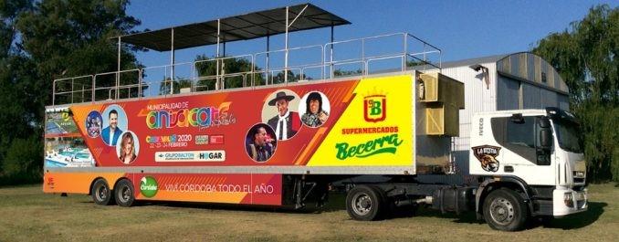 """Anisacate y una jornada de carnaval libre de enojos con """"La Bestia"""""""