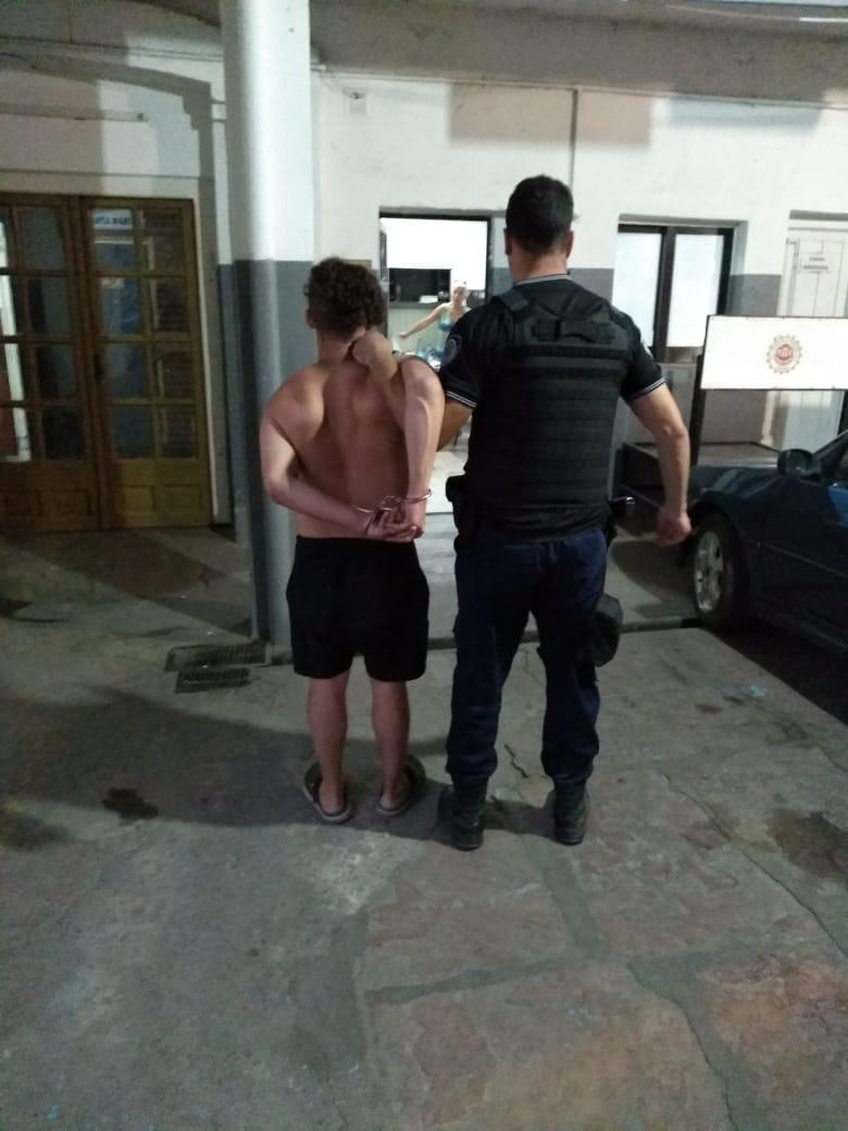 Ocurrió ayer por la tarde. El sujeto es vecino de barrio San Vicente, en Córdoba capital.