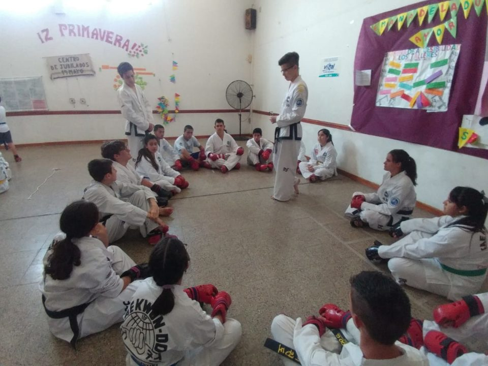 Taekwondo en el Deportivo Norte