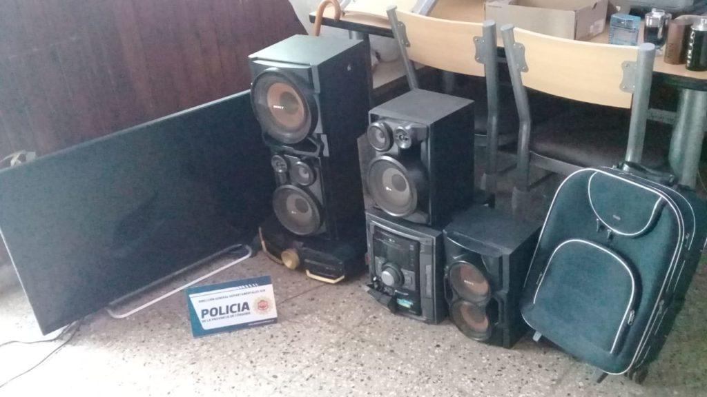 Jornada de múltiples allanamientos por hechos de robo en Alta Gracia
