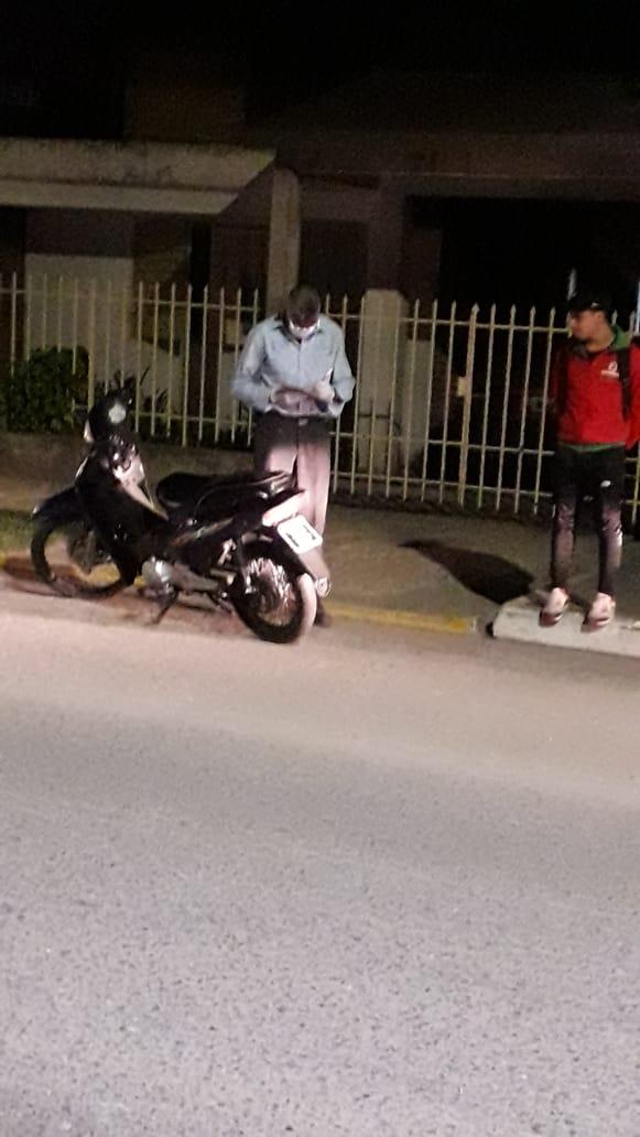 Varios detenidos por violar la ley de aislamiento obligatorio. Motos requisadas a infractores.