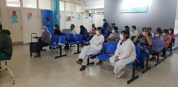 Personal de salud y de limpieza de la cuidad fueron capacitadas sobre cuestiones inertes al COVID19