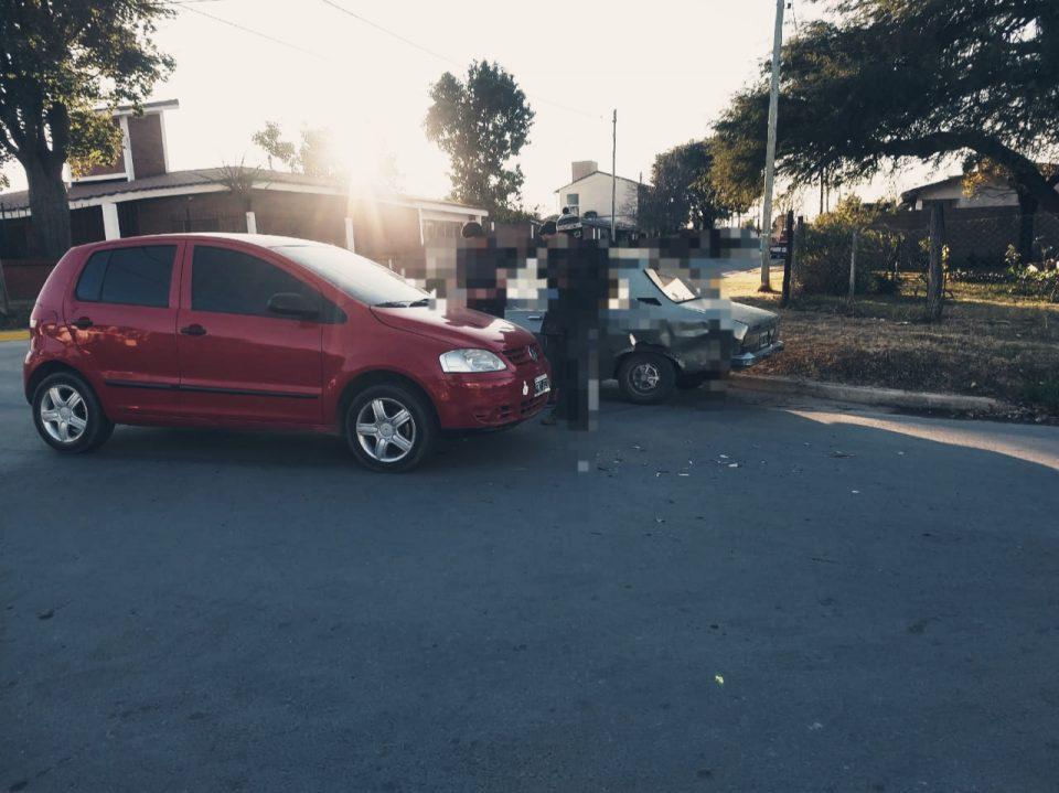 accidente sin lesionados