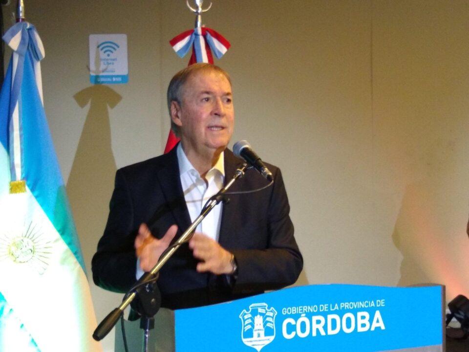 El gobernador de Córdoba anunció que se habilitarán las reuniones familiares en la capital cordobesa. Serán únicamente para sábados, domingos y feriados.