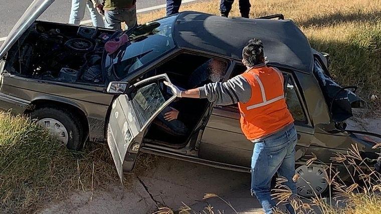 Choque fatal en la autopista Córdoba-Carlos Paz