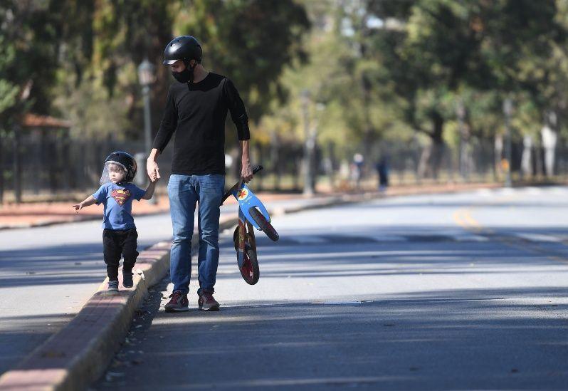 Un Día del Padre marcado por la pandemia