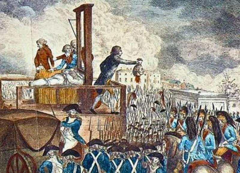 De cuando Francia perdía la cabeza, y a los verdugos, si algo les sobraba, era trabajo.
